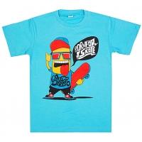 "5801-17 ""Born for Skate"" футболка для мальчиков 5-8 лет"