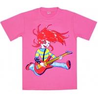 """5802-8 """"Рок-н-Ролл"""" футболка для девочек 5-8 лет"""