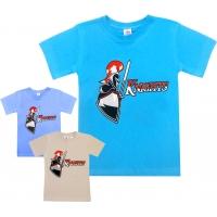 """5901-4 """"Рыцарь"""" футболка для мальчиков 5-9 лет"""
