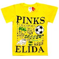 "5901-022 ""GOAL"" футболка, 5-9 лет, желтый"