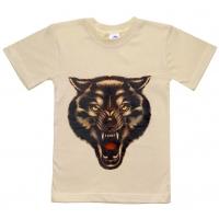 """5901-15 """"Волк"""" футболка для мальчиков 5-9 лет"""