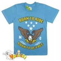 """81201-17 """"Born to Ride"""" Футболка для мальчиков, 8-12 лет"""