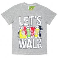 """81201-71 """"Let's Walk"""" Футболка для мальчиков, 8-12 лет"""