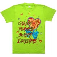 """91202-1 """"Sweet Dreams"""" футболка для девочек 9-12 лет"""