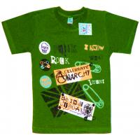 """91301-26 """"Rock"""" футболка для мальчиков 9-13 лет, болотный"""