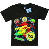 """91301-32 """"CONQUER"""" футболка для мальчиков 9-13 лет, черный"""