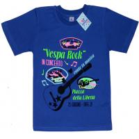 """91301-35 """"Vespa Rock"""" футболка для мальчиков 9-13 лет, синий"""