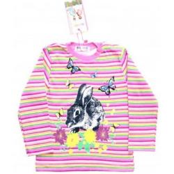 """1452-3 """"Rabbit"""" Джемпер для девочек, 1-4 года"""