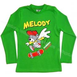 """1451-23 """"Melody"""" Кофта для мальчиков, (на конопк.), интерлок, 1-4 года"""