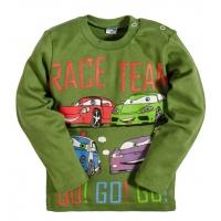 "2511-5 ""Race Team"" кофта для мальчика, интерлок, 2-5 лет, хаки"