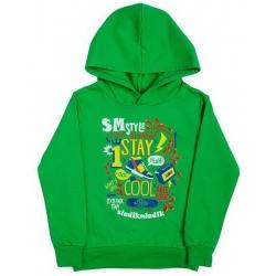 "5851-09 ""1 Stay Cool"" Толстовка с капюшоном, футер, 5-8 лет"