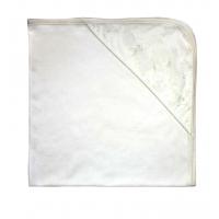 ЛЕО. Одеяло с уголком кружевное, молочный