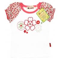"""v0002 """"Цветочек"""" блузка с вышивкой"""