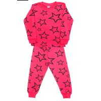 3782-1-7 Пижама для девочек, 3-7 лет, коралл