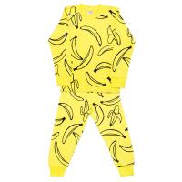 3781-1-1 Пижама для мальчиков, 3-7 лет, желтый