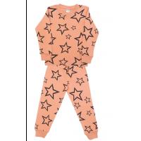 3781-1-3 Пижама для мальчиков, 3-7 лет, кофейный