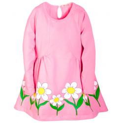 B-5882 Платье для девочки, 5-8 лет, розовый