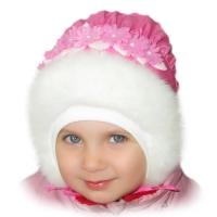 «Happy lama» Шапка для девочек