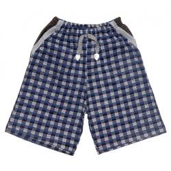 """2641-5 """"Клетка"""" шорты с карманами для мальчиков, 2-6 лет"""