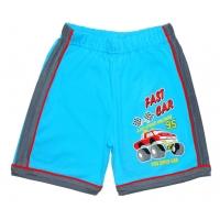 "5841-010 ""Fast Car"" шорты с лампасами для мальчиков, 5-8 года"