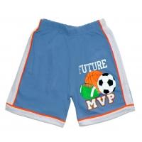 """5841-06 """"MVP"""" шорты с лампасами для мальчиков, 5-8 года"""