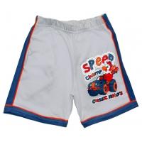 "5841-07 ""Speed Champ"" шорты с лампасами для мальчиков, 5-8 года"