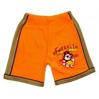 """5841-09 """"Футбол"""" шорты с лампасами для мальчиков, 5-8 года"""