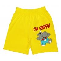 """5841-1 """"I'm Happy"""" шорты для мальчиков, 5-8 года"""