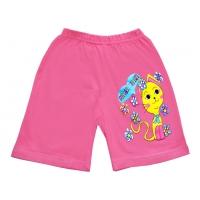 """5842-2 """"Pretty Kitten"""" шорты для девочек, 5-8 лет, сиреневые"""