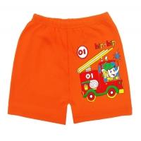 """1441-4 """"Слоник-Пожарный"""" шорты для мальчиков, 1-4 года"""