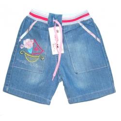 Sailor шорты джинсовые для девочек, 1-4 года