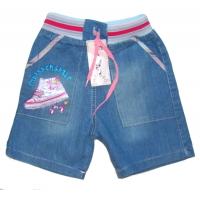 """V 117 """"Кроссовки"""" Шорты джинсовые для девочек"""