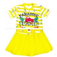 """3780-2 """"Paradise"""" Платье 3-7 лет"""