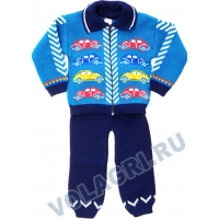 «Машинки» костюм для мальчиков, 92\98