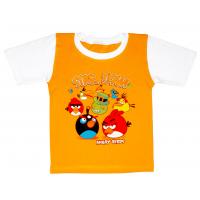 04-0210 Футболка для мальчика, кулир, 4-8 лет