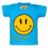 "10-14106 ""SMILE"" футболка, 1-4 года, бирюза"