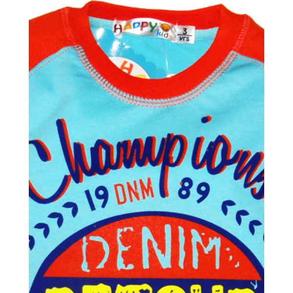 """10-35707 """"CHAMPIONS"""" Джемпер для мальчика, 3-7 лет"""