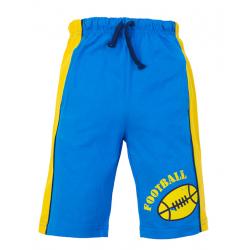 "45-584122 ""BFootball"" Бриджи с карманами, 5-8 лет, голубой"