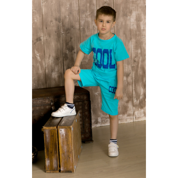 """11-372183 """"Yes"""" Комплект с бриджами, 3-7 лет, голубой"""