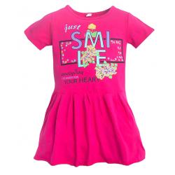 11-58801 Платье для девочки, 5-8 лет, фуксия