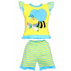 """1422-55 """"Пчелка"""" комплект для девочек, 1-4 года"""